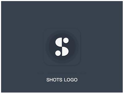 Logo for App Shots - Dark s shots logo app