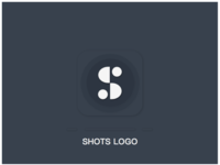 Logo for App Shots - Dark