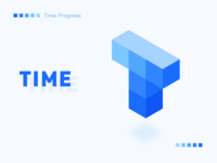 Logo for App「Time Progress」