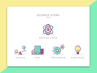 Engineering Icons -Science - Set 2