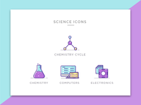 Engineering Icons -Science - Set 3