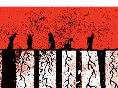 Ouya - The Walking Dead Poster