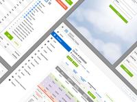 Internal Sales CRM UX/UI project