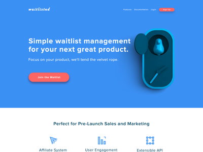 waitlisted redesign