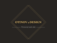Otinov.Design - web site