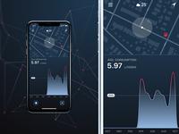 Car diagnostic app Concept