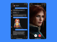 Mood Messenger App: Group chat, Video call #2