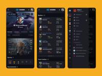 GO2DEN: Player Profile (Mobile)