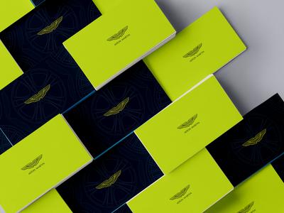 Aston Martin - Envelope Packet Design