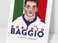 Mundial Legends Series #2 - Roberto Baggio