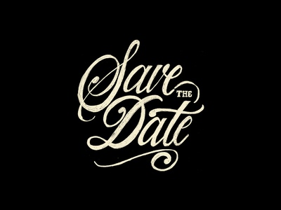 Save the date - Sketch