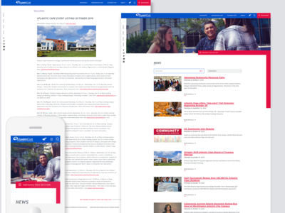 Website 01 - News