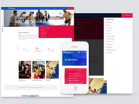 Website 01 - Navigation Features