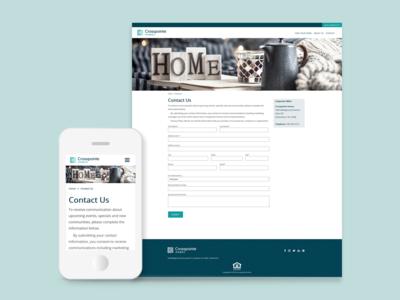 Website 02 - Contact Form