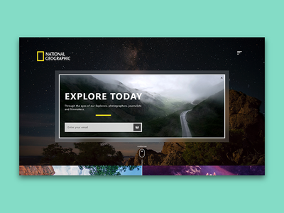 National Geographic Sign-up