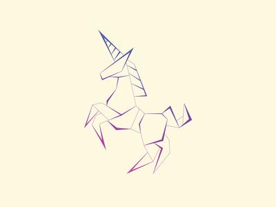 Origami Animals Series - Unicorn