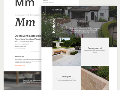 Bedrock: Design System