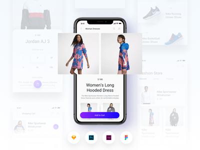 Brake UI Kit 2.0 - E-Commerce Shopping Store Template