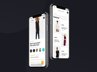 Key Fashion iOS UI Kit - Panoply Store Design Bundle