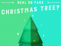Real vs Fake Christmas Tree?