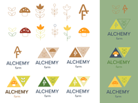 alchemy farm (unused) logo concepts