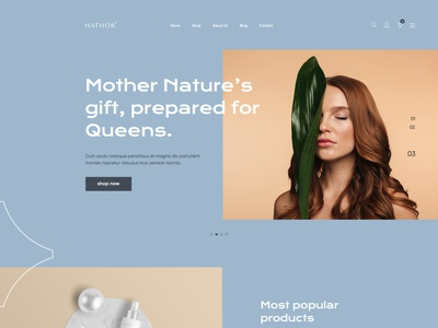 Hathor Website ui ux website design website brand identity logo design beauty identity minimalist modern beauty brand wellness skincare brand women woman skincare organic natural cosmetics beauty hathor