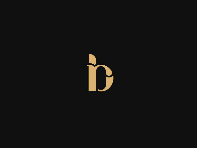 rb monogram by insigniada - branding agency