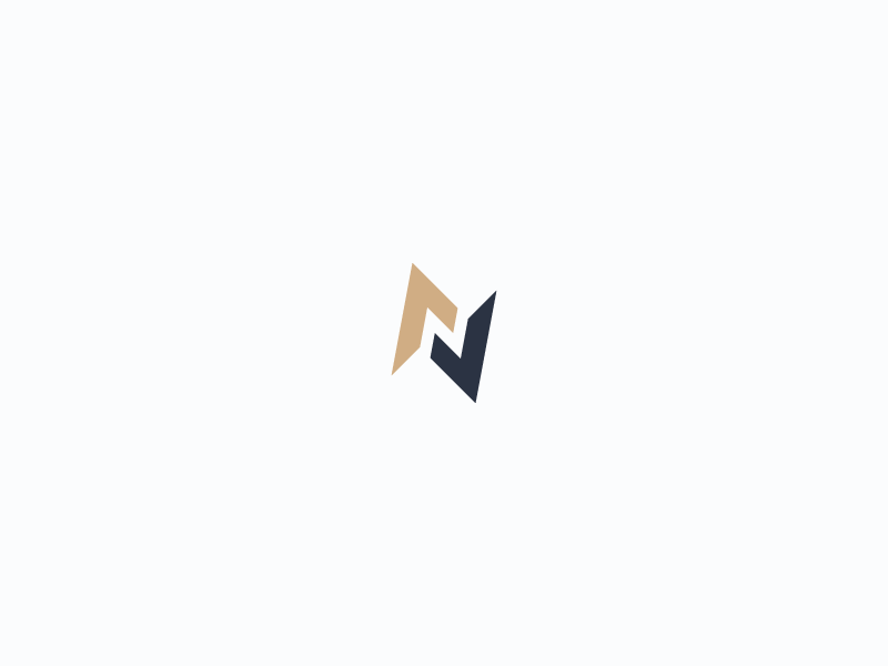 Abstract Letter N Logo By Insigniada Branding Agency On