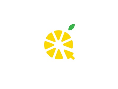 Lemon Marketing #2 design logo abstract marketing lemonade lemon yellow