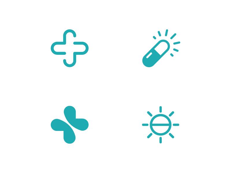 Pharmacy Logo visual identity smart pills pharmacy packaging modern medicine logo innovative health brand identity abstract