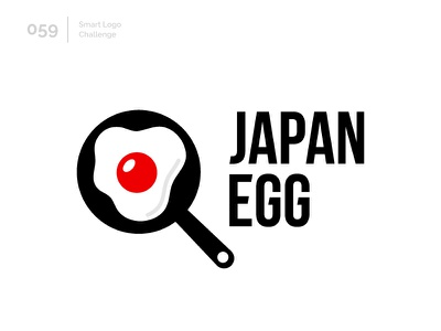 59/100 Daily Smart Logo Challenge logo challenge 100 day challenge 100 day project modern logo abstract egg red sun japanese japan