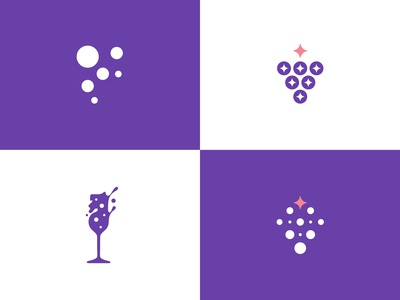Fizz Society Logo Concepts