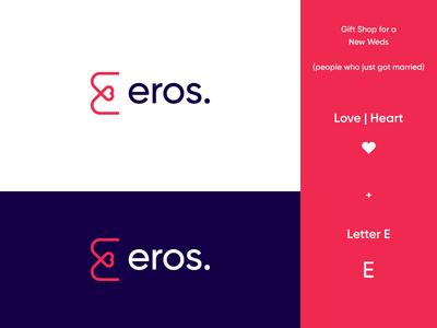 Eros Logo Design