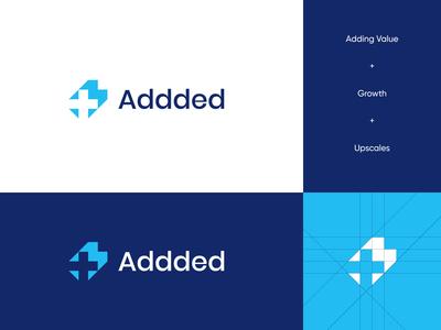 Addded Plus Logo design