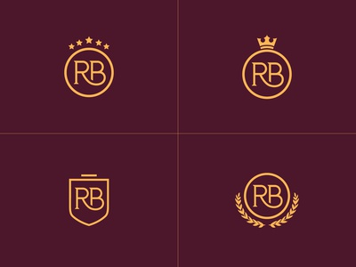 RB Monogram Shields