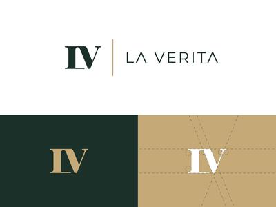 La Verita Logo Concept 3