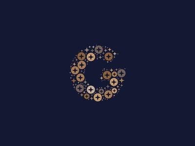Dotted Monogram Letter G