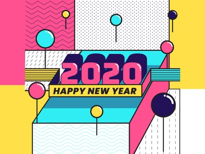 Happy New Year 2020 abstract new years eve party celebrate happy new years new year 2020 new year
