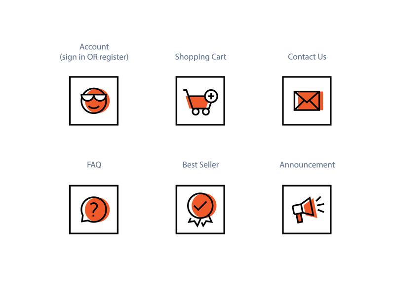 CrossFeet Icons