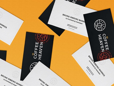 Coffee Heaven Business Cards
