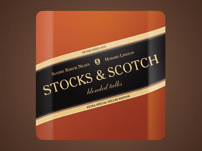 Stocks And Scotch App Icon