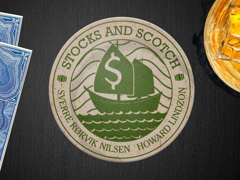 Stocks and scotch coaster seal