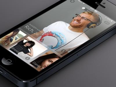 Spritzr Mobile UI