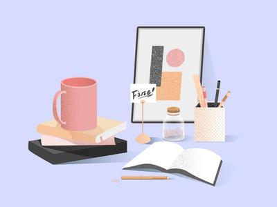 Simple workspace