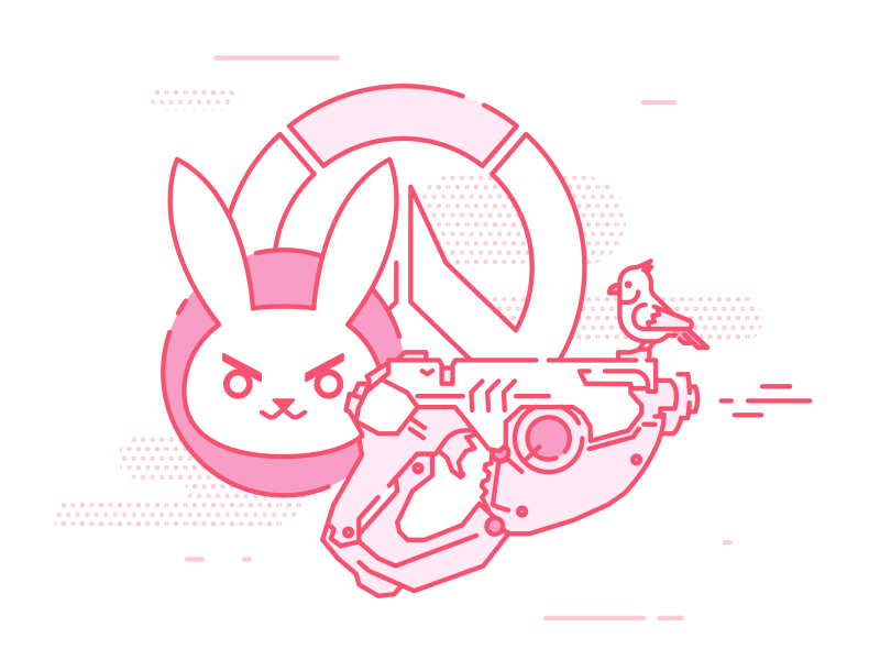 Overwatch by BINH for Discord on Dribbble