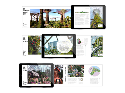 Garden by the Bay Interactive Magazine bay publishing ipad app gardens singapore layout magazine