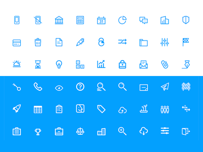 Financial Icons Set finance website design set type font web ui icons icon flat app