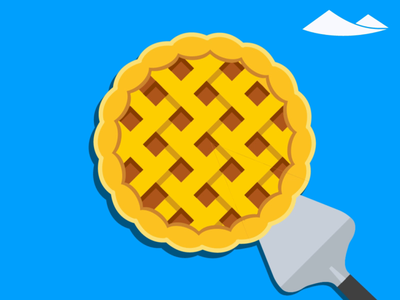 Share the pie pies food vector animation illustration pie chart pie day pie