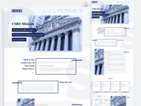 CSBS home page redesign V3