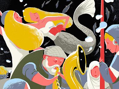 Rhapsody in the underground illustration